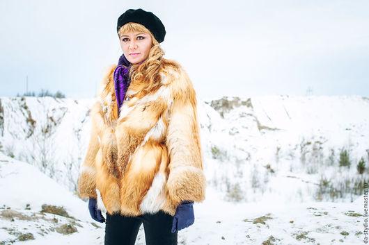 Шуба из меха лисы (Артикул 18-02-16) by Dmitriy PEHTASHEV_Studio Photographer: Александр Крафт