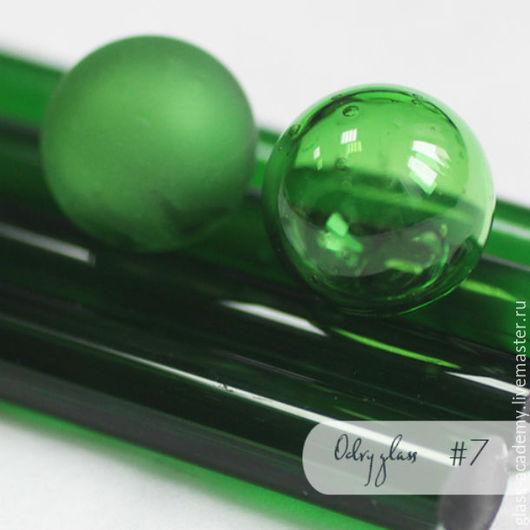 Для украшений ручной работы. Ярмарка Мастеров - ручная работа. Купить стекло #7 - Moss (Мох) для lampwork Odry glass coe 104. Handmade.