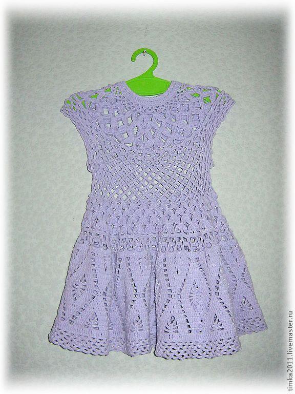 Платье для девочки ажурное купить