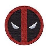 Аппликации ручной работы. Ярмарка Мастеров - ручная работа Нашивка Дедпул, Deadpool, marvel, DC, комиксы. Handmade.