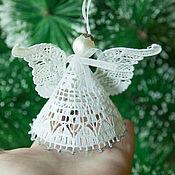 Подарки к праздникам handmade. Livemaster - original item Angel Tree Christmas 3. Handmade.