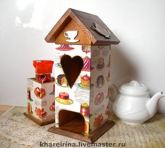 """Кухня ручной работы. Ярмарка Мастеров - ручная работа. Купить Чайный домик """"Сладкоежка"""". Handmade. Чайный домик, сладкоежка"""