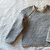 Одежда ручной работы. Ярмарка Мастеров - ручная работа Стеганый свитшот.. Handmade.