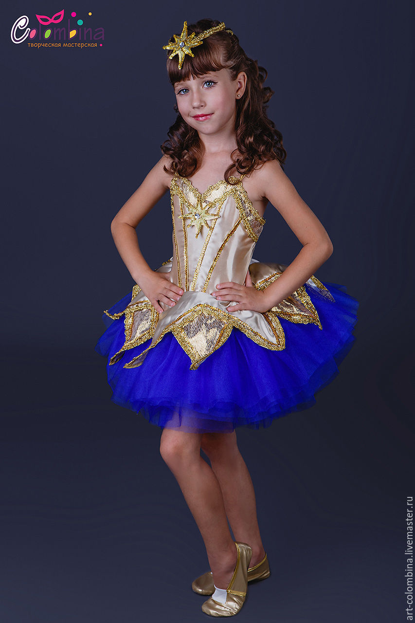 Платья для девочек звезда