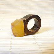 Украшения handmade. Livemaster - original item Amber ring size 15,5 P-115. Handmade.
