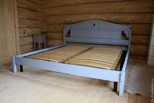 Мебель ручной работы. Ярмарка Мастеров - ручная работа. Купить кровать. Handmade. Прованс, мебель в стиле прованс, металлическая фурнитура
