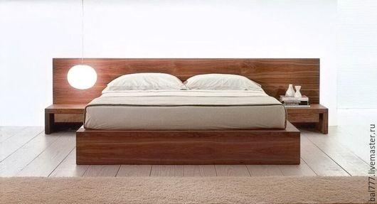 """Мебель ручной работы. Ярмарка Мастеров - ручная работа. Купить Кровать """"Анна"""" из Лиственницы. Handmade. Кровать из лиственницы, кровать на заказ"""