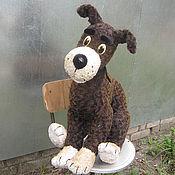 Куклы и игрушки handmade. Livemaster - original item Puppets .The dog and the cat to play
