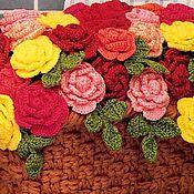 Цветы и флористика ручной работы. Ярмарка Мастеров - ручная работа Цветы из пряжи. Handmade.