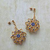 Украшения handmade. Livemaster - original item Star Stud Earrings. Handmade.