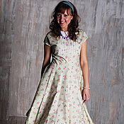 Одежда handmade. Livemaster - original item Dress in the 50s style of