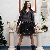 """Одежда ручной работы. Ярмарка Мастеров - ручная работа Дизайнерская юбка""""Сердце"""". Handmade."""