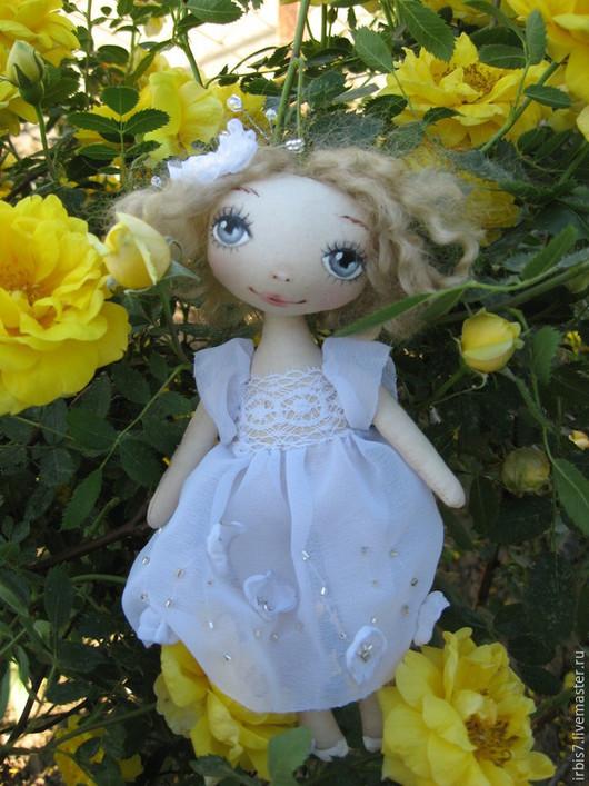 Коллекционные куклы ручной работы. Ярмарка Мастеров - ручная работа. Купить Нежность. Handmade. Белый, кукла ручной работы