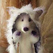 Куклы и игрушки ручной работы. Ярмарка Мастеров - ручная работа Снежный Черничный лис. Handmade.