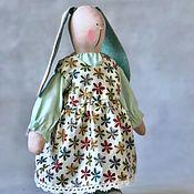 Куклы Тильда ручной работы. Ярмарка Мастеров - ручная работа Зайка в стиле Тильда. Handmade.