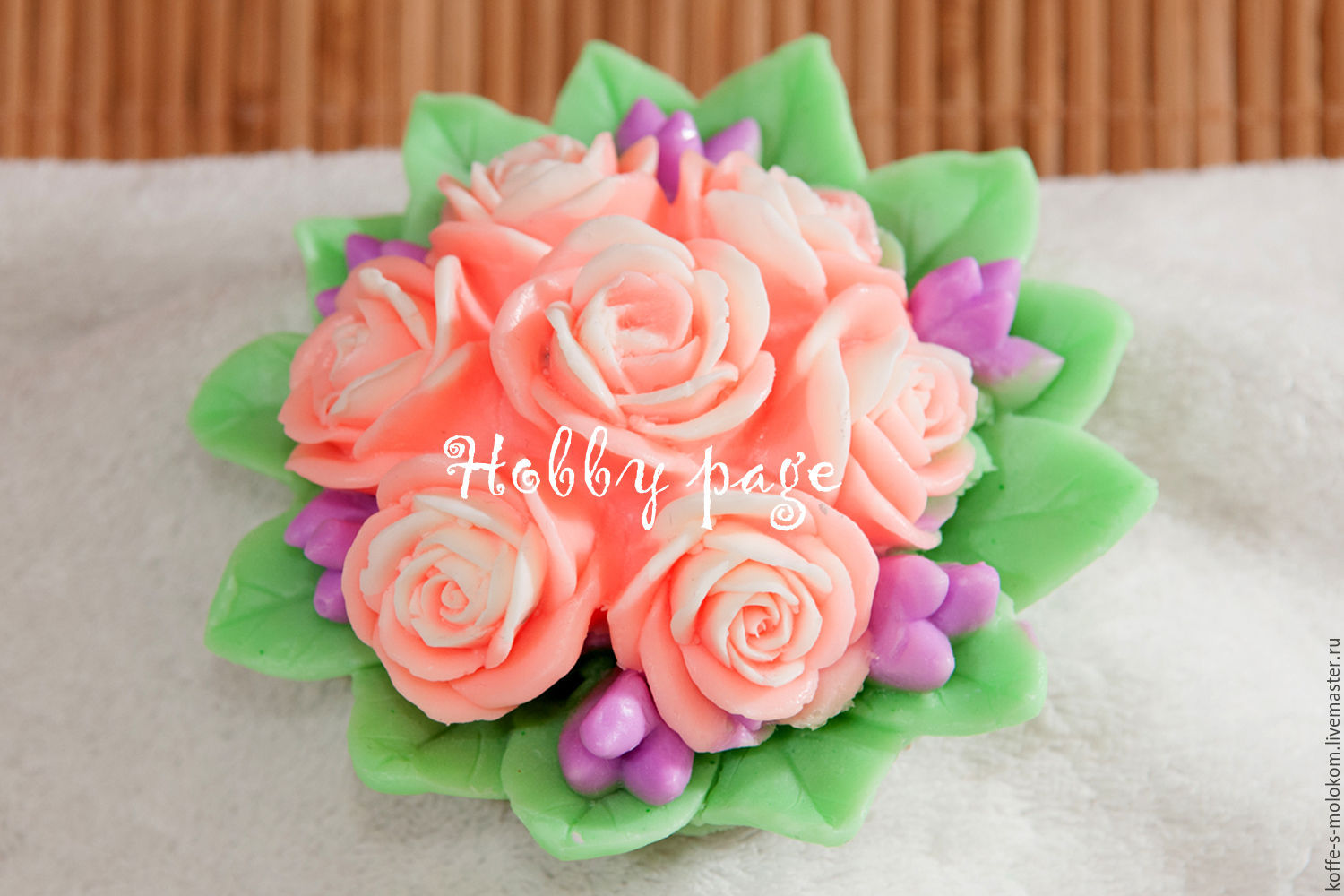 Silicone molds for soap Bouquet of 7 roses, Form, Moscow,  Фото №1