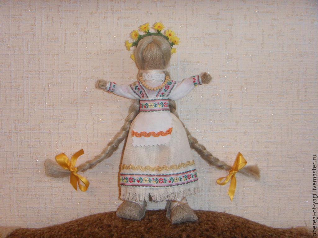 Кукла оберег ладушка своими руками из ткани с мастер классом