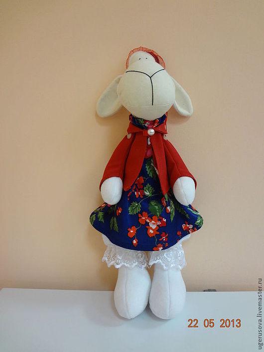 Куклы Тильды ручной работы. Ярмарка Мастеров - ручная работа. Купить овечка тильда. Handmade. Белый, овечка, игрушка