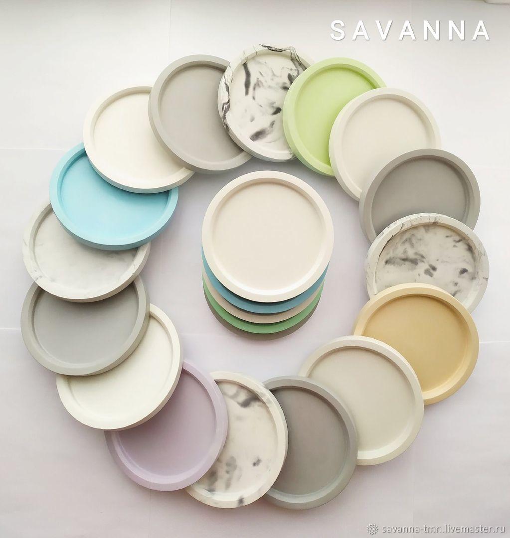A plate for concrete planters, Pots1, Tyumen,  Фото №1