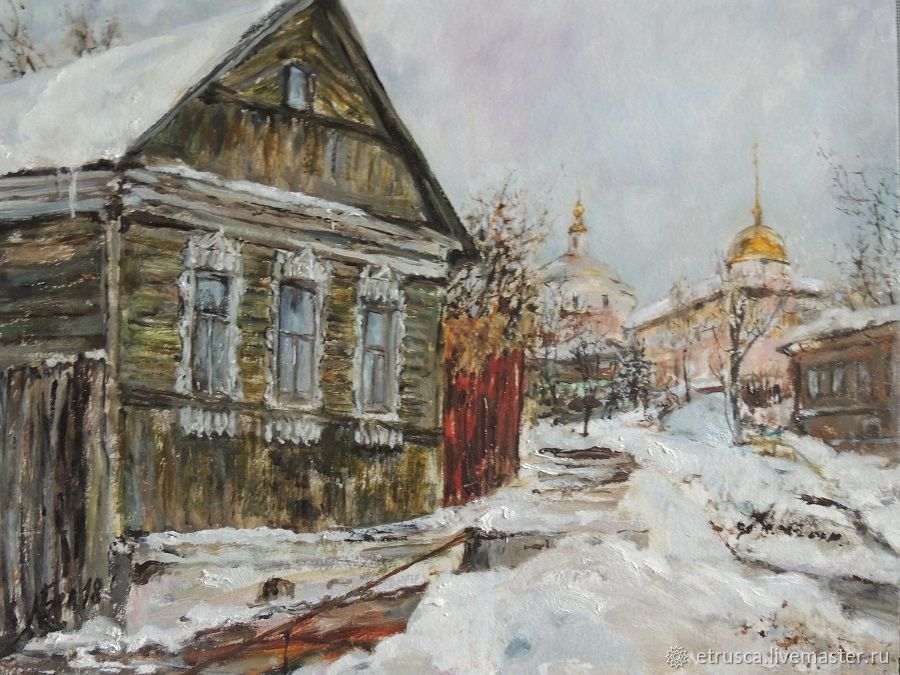 Borovsk - a winter landscape, Pictures, Moscow,  Фото №1