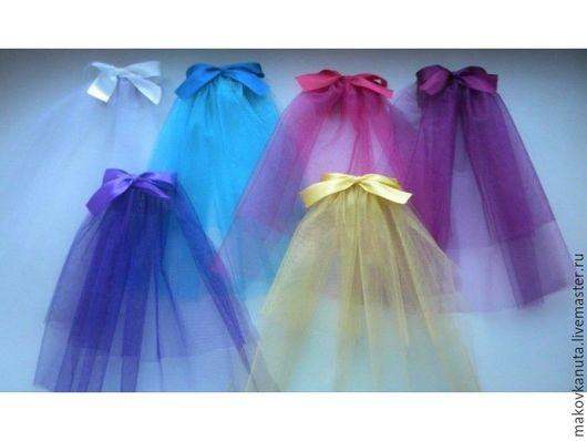 Купить Свадебные аксессуары:фата,юбка для девичника,подвязка - комбинированный, свадьба, аксессуары, фатин, атласная лента