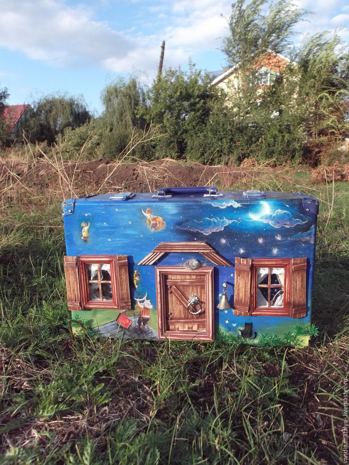suitcase - cabin `bedtime story`