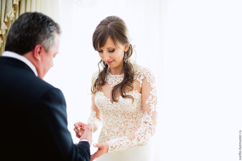 Ажур свадебное платье
