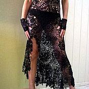 Одежда ручной работы. Ярмарка Мастеров - ручная работа Платье вязаное крючком, ирландское кружево.. Handmade.