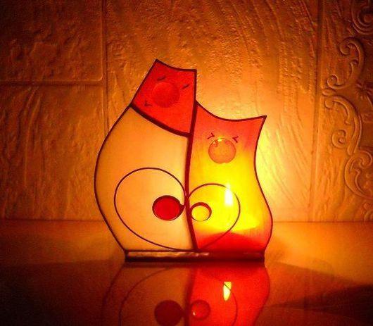 Подарки для влюбленных ручной работы. Ярмарка Мастеров - ручная работа. Купить Влюбленные коты. Handmade. Оранжевый, рыжий кот, коты