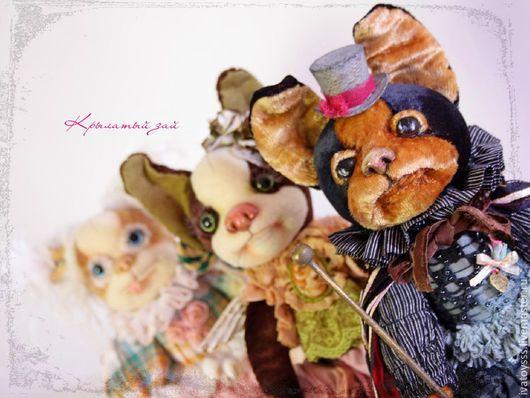 Куклы и игрушки ручной работы. Ярмарка Мастеров - ручная работа. Купить Авторские интерьерные Песики. Handmade. Щенок, собачка, лак