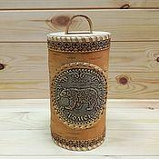 Для дома и интерьера handmade. Livemaster - original item Bank from a birch bark Tomsk - Bear. Gift from Siberia. Souvenir. Handmade.