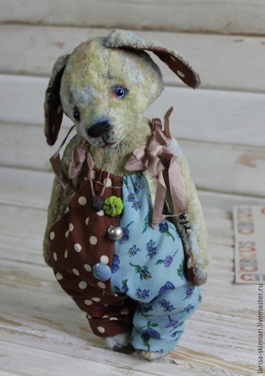 Мишки Тедди ручной работы. Ярмарка Мастеров - ручная работа. Купить Лютик.. Handmade. Щенок, авторская ручная работа, хлопок