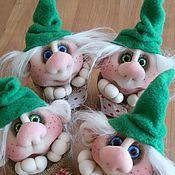 Куклы и игрушки ручной работы. Ярмарка Мастеров - ручная работа Волшебные гномы. Handmade.