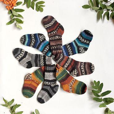 Товары для малышей ручной работы. Ярмарка Мастеров - ручная работа Ультратонкие шерстяные носочки для новорождённых. Handmade.