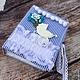 """Подарки для новорожденных, ручной работы. Ярмарка Мастеров - ручная работа. Купить """"Я родился!"""" Фотоальбом для мальчика с файлами. Handmade. Голубой"""