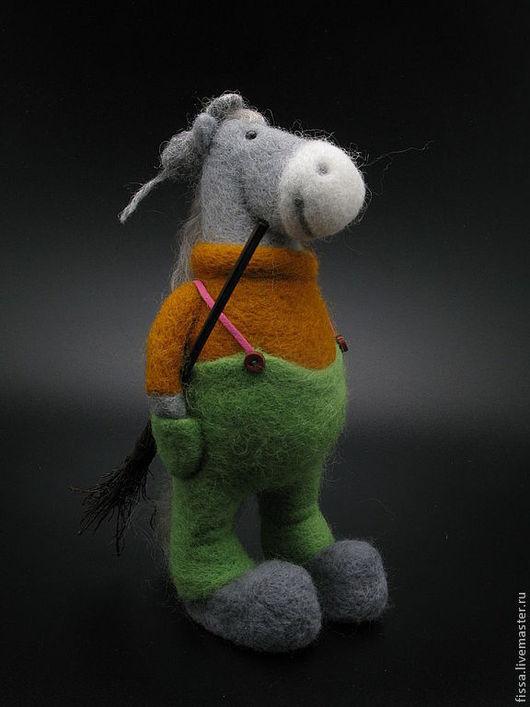 Игрушки животные, ручной работы. Ярмарка Мастеров - ручная работа. Купить Дворник Кузя. Handmade. Валяние, подарок, подарок на новый год