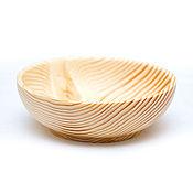 Посуда handmade. Livemaster - original item Bowl of wood (17cm) 100%#69. Handmade.