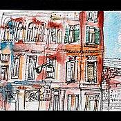 Картины и панно ручной работы. Ярмарка Мастеров - ручная работа Венеция. Район гетто. Handmade.