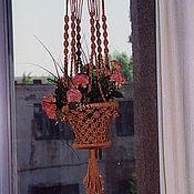 Для дома и интерьера ручной работы. Ярмарка Мастеров - ручная работа Кашпо. Handmade.