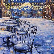 Картины и панно ручной работы. Ярмарка Мастеров - ручная работа Зимнее предвкушение. Handmade.