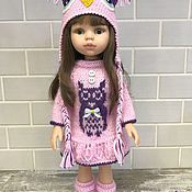 """Одежда для кукол ручной работы. Ярмарка Мастеров - ручная работа Одежда для кукол: Комплект """" Совушка"""". Handmade."""