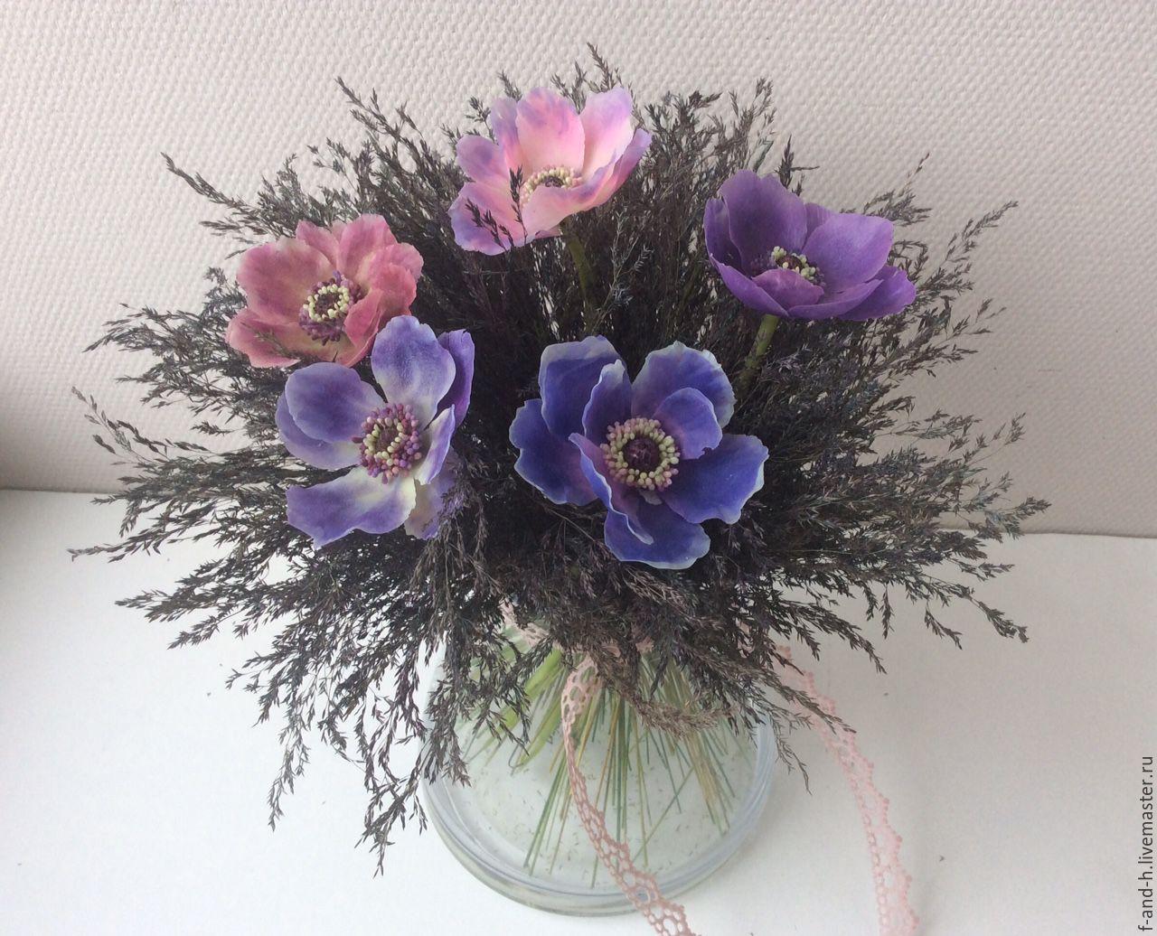 Цветы ручной работы купить екатеринбург купить картину маслом незабудки розы белые сирень в интернет магазине