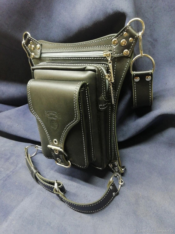 Набедренная сумка №1.1.1.1, Мужская сумка, Тольятти,  Фото №1