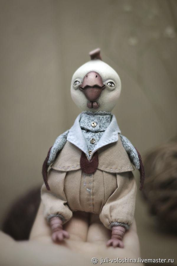 Кукла авторская петушок Пантелей, Куклы и пупсы, Челябинск,  Фото №1