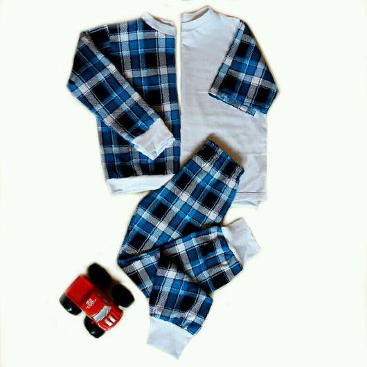 Одежда для мальчиков, ручной работы. Ярмарка Мастеров - ручная работа. Купить Пижама для мальчика.. Handmade. Пижама, хлопок 100%