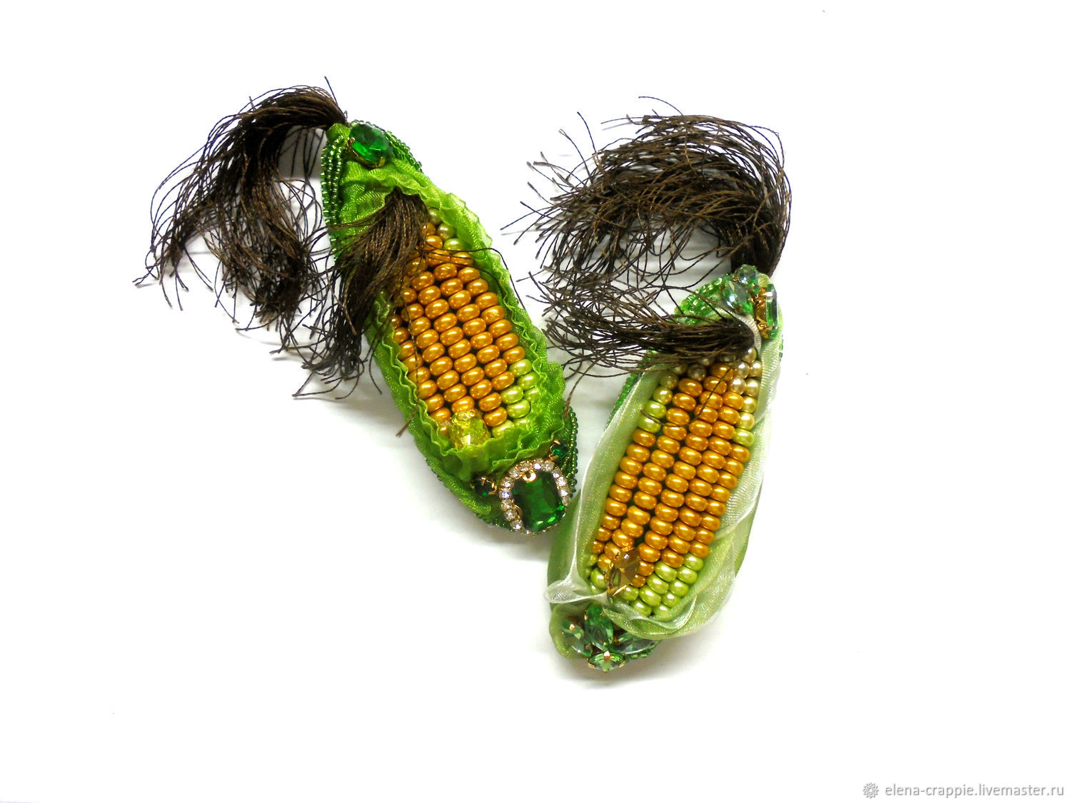 brooches: corn, Brooches, Volgodonsk,  Фото №1