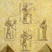 """Картины ручной работы. Ярмарка Мастеров - ручная работа Картина """"Пирамида"""". Handmade."""