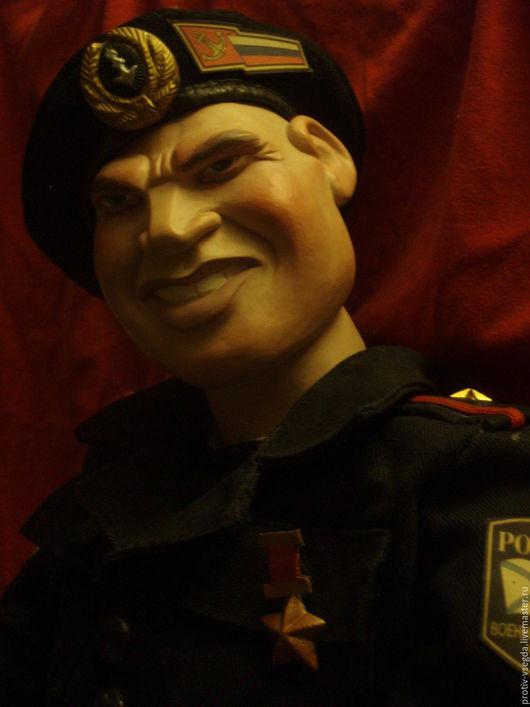 Коллекционные куклы ручной работы. Ярмарка Мастеров - ручная работа. Купить Морпех. Handmade. Черный, смелость