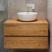 Для дома и интерьера handmade. Livemaster - original item Cupboard in bathroom. Handmade.
