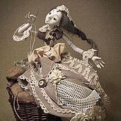 Куклы и игрушки handmade. Livemaster - original item boudoir doll: Collectible doll
